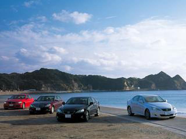 画像: 【ヒットの法則400】レクサスISとBMW3シリーズ、メルセデスCクラスの同時試乗で見えた3車の位置