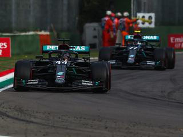 画像: F1エミリア ロマーニャGP、ハミルトンが優勝、メルセデスのコンストラクターズタイトル確定【モータースポーツ】