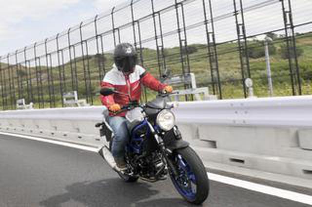 画像: 【650ccの謎】ミドルクラスの大型バイクって快適に走れるの? スズキ『SV650』で高速道路を走って検証!【SUZUKI SV650 ABS】