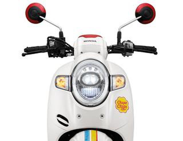画像: タイホンダの110ccスクーターが「チュッパチャプス」とコラボ! 新型「スクーピーi」をポップに彩ったリミテッドモデル登場