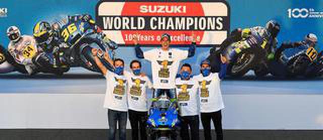 画像: <MotoGP> 100周年、GP参戦60周年 スズキ勝った! ~ジョアン・ミル スズキ20年ぶりのGP最高峰王者に