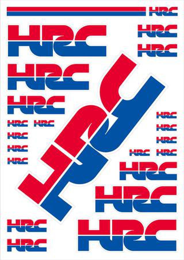 画像: ワークス・ステッカー「HRCステッカーキット」は1980円!