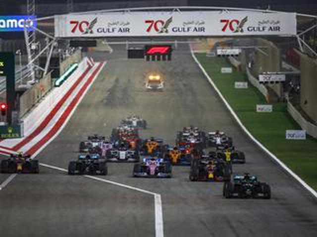 画像: F1バーレーンGP、波乱のレースでハミルトンが11勝目、レッドブル・ホンダの2台が揃って表彰台【モータースポーツ】