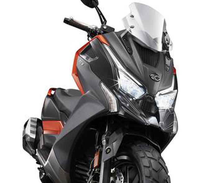 画像: キムコが新モデル「DT X360」を発表! 排気量は320cc、冒険を楽しむためのスクーターが誕生【2021速報】