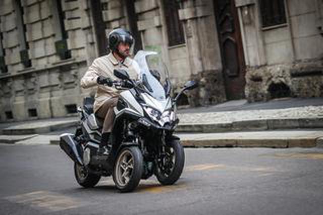 画像: キムコが初の三輪スクーター「CV3」を正式発表! 排気量は550cc、ロングツーリングも快適に楽しめる最新装備が満載【2021速報】