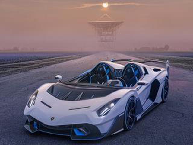 画像: ランボルギーニが世界でただ1台の公道仕様オープントップ レーシングカー「SC20」を発表