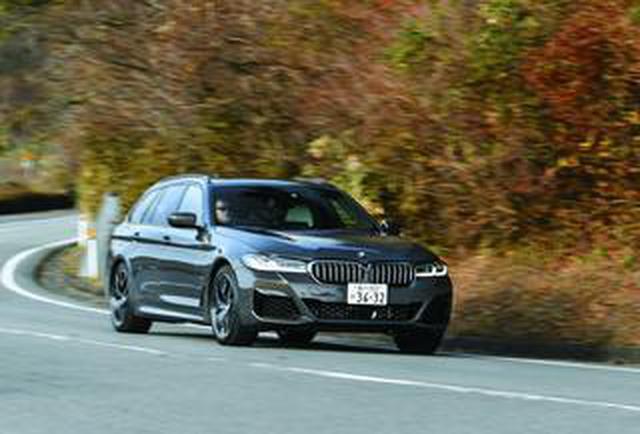 画像: 【試乗】BMW 540i xDrive ツーリング M スポーツのストレート6エンジンは実に気持がいい