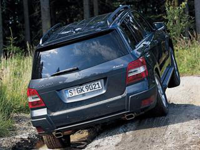 画像: 初代メルセデス・ベンツ GLKは悪路走破性でライバルとの違いをアピールしていた【ヒットの法則470】