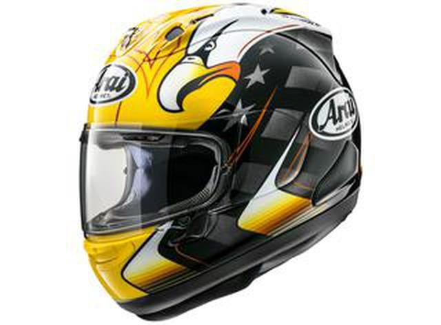 画像: アライヘルメットがケニー・ロバーツの最新レプリカ「RX-7X KRアメリカン・イーグル」を発表!