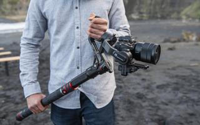 画像: ヴァイテックイメージングは、マンフロット初の3 軸ジンバル2 モデル、およびジンバル用ブーム1モデルを2021年1月29 日に発売。