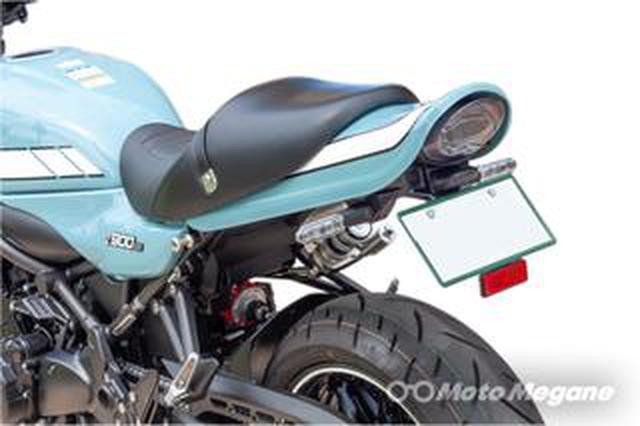 """画像: カワサキ「Z900RS」の魅力をブラッシュアップする新進パーツブランド""""ARCHI(アーキ)""""の魅力"""