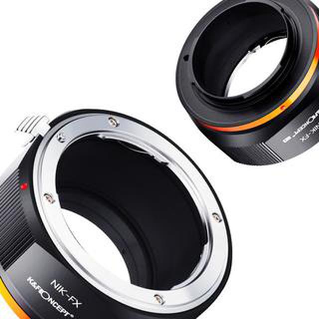 画像: K&F Concept マウントアダプター 新型6種を発売