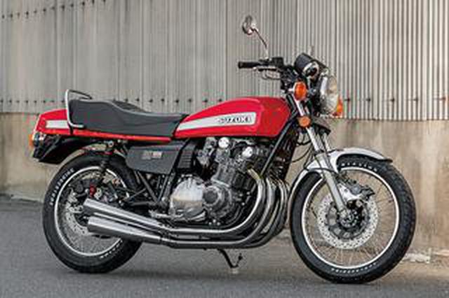 画像: スーパーバイクGS1000(スズキGS1000)高回転時の同調音も官能的な鉄製めっき4本出しEX【Heritage&Legends】