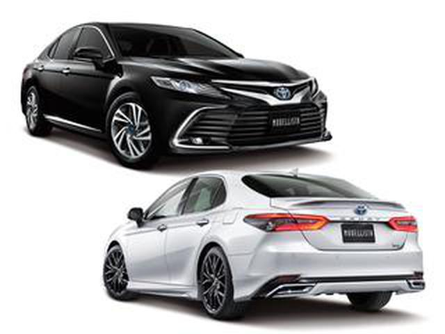 画像: トヨタ 新型カムリ用のモデリスタ カスタマイズアイテムを発売。優雅さに力強さもプラス