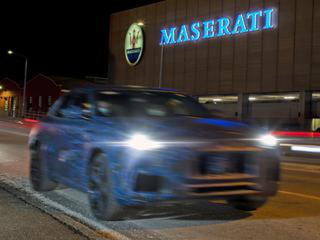 画像: マセラティが新型SUV「グレカーレ」のプロトタイプを公開! SNSでの拡散がはじまった