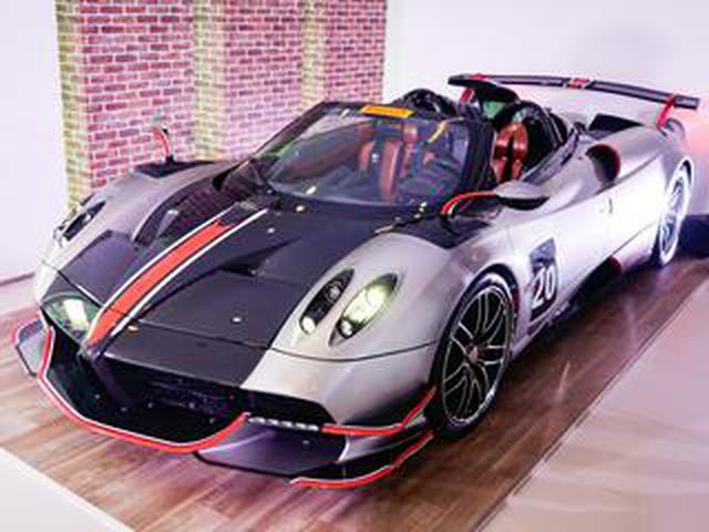 画像: 約4億円、パガーニ ウアイラ・ロードスターBCが日本上陸。V12搭載、生産台数40台のスーパーカー