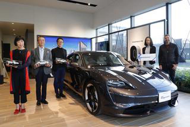 画像: ポルシェ タイカン デリバリーセレモニー開催。現車を見ずに購入したオーナーの期待値は高い