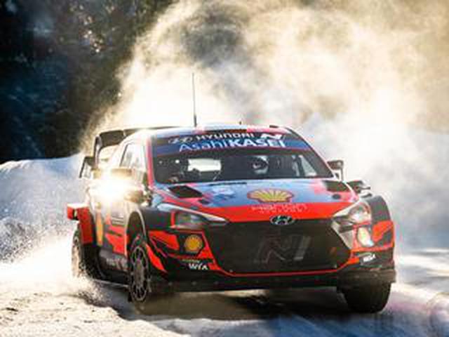 画像: WRC第2戦、雪のアークティック・フィンランド、ヒュンダイのタナックがトヨタ勢を圧倒【モータースポーツ】