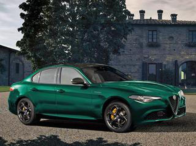 画像: アルファロメオ ジュリアに特別なグリーンのボディカラーが映える限定車「ヴェローチェ ヴィスコンティ エディション」を発売