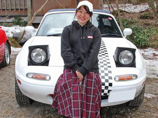 画像: 父が乗っていた初代ユーノス ロードスター、今は私の愛車です!【ロー女スター第1回】