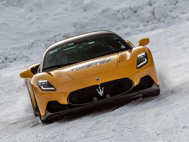 画像: 【動画】マセラティのスーパースポーツカー「MC20」が雪上を激走する映像を公開!