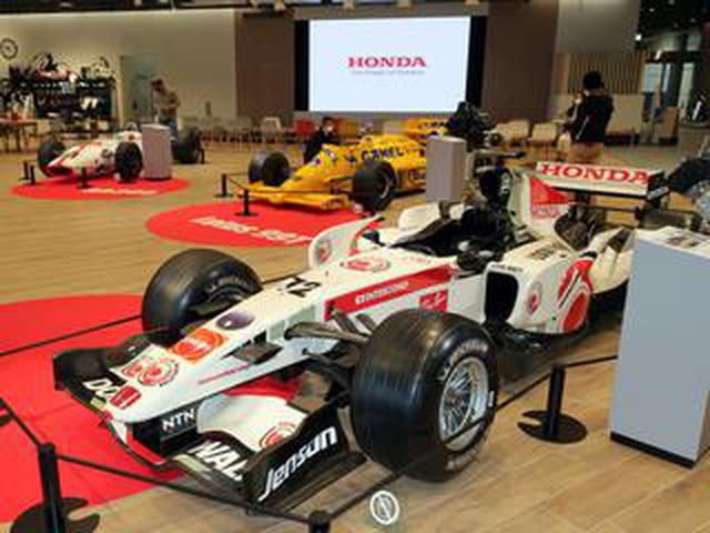 画像: 【写真蔵】ホンダの歴代F1マシン展示イベントに「サプライズマシン」登場。ウエルカムプラザ青山で展示中