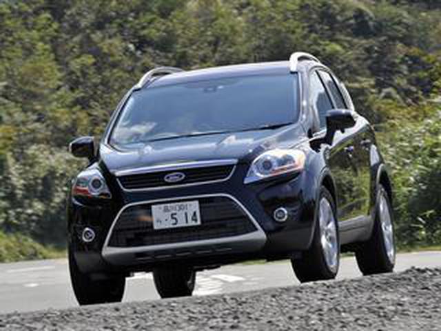 画像: 【試乗】フォード クーガは、激戦区となりつつある輸入コンパクトSUV市場に魅力的なスタイリングで参入した【10年ひと昔の新車】