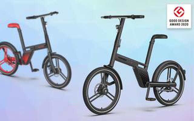 画像: 自転車からチェーンが消えた。シャフトドライブで駆動する電動アシスト自転車「HONBIKE」