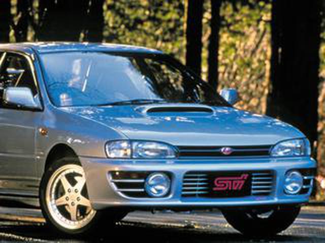画像: 【平成スポーツPVランク第10位】スバル インプレッサWRX STi(GC8型:1994年1月発売)
