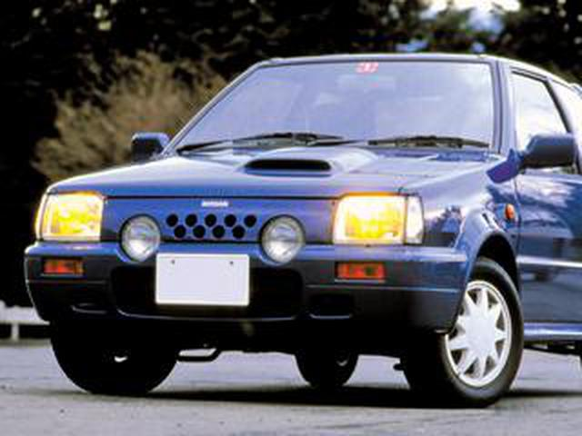 画像: 【平成スポーツPVランク第1位】日産 マーチ スーパーターボ(EK10型:1989年1月発売)