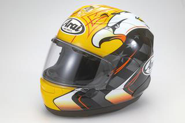 画像: キング・ケニーの白頭鷲デザインが現代のデザイン・アレンジで大復活! アライヘルメット「RX-7X KRアメリカン・イーグル」