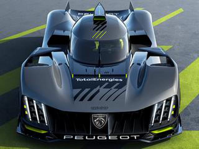 画像: プジョーがハイパーカー「9X8」を公開。2022年からル・マン24時間レース参戦を開始【モータースポーツ】