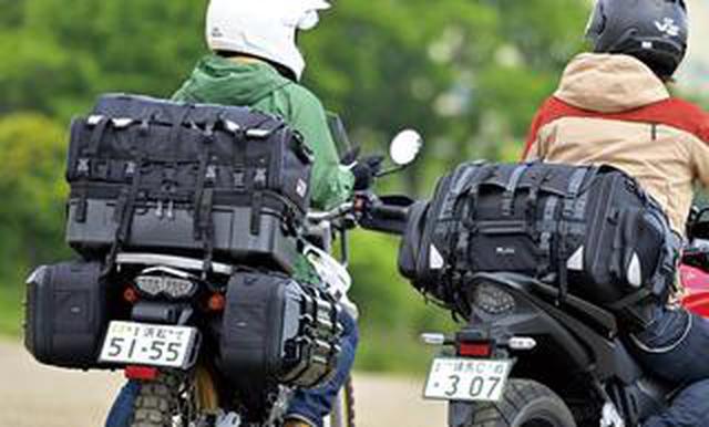 画像: 【バイク用シートバッグカタログ2021】性能・容量・価格帯で選ぶ国内メーカー6社の大型バッグ20選|キャンプにもぴったり!