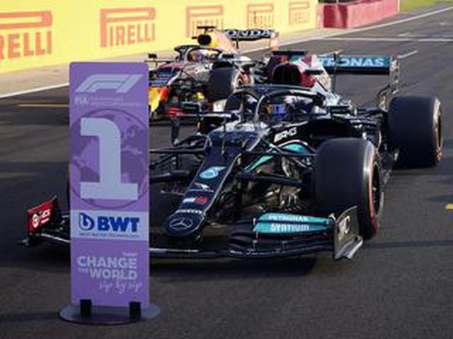 画像: 2021年F1第10戦、ハミルトンがトップタイムをマークしてスプリント予選セッションへ【イギリスGP予選】