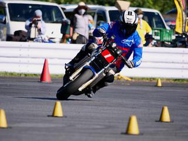 画像: 【オートバイ杯ジムカーナ】3カ月以上のインターバルを経ての「シーズン再開幕」! 池田選手&NSRが逆転勝利【第2戦レポート】