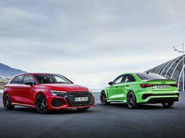 画像: 新型アウディ RS3 スポーツバック&セダンが世界初公開。トルクスプリッターを標準装備、セミスリックタイヤもOP設定
