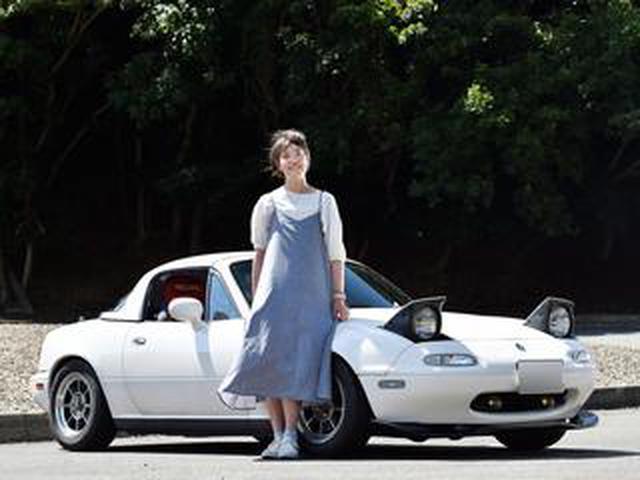 画像: NAロードスターのハードトップ仕様に乗る! マニュアル大好き女子、あまモンさん【ロー女スター第7回】