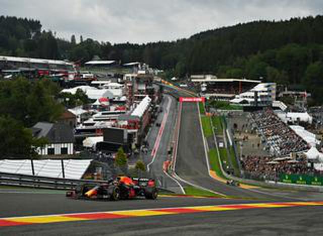 画像: 2021年F1第12戦、フェルスタッペンが初日トップタイムをマーク、メルセデス勢も好調【ベルギーGP】