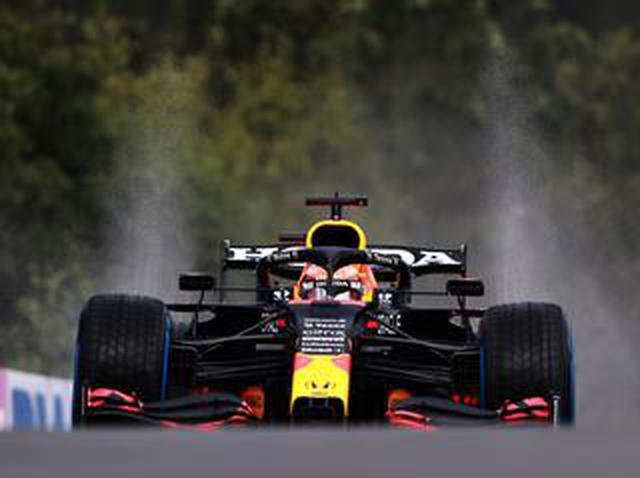 画像: 2021年F1第12戦 予選、フェルスタッペンが断続的に降り続く雨の中でポールを獲得、ハミルトンは3番手【ベルギーGP】