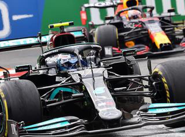 画像: 2021年F1第14戦、ボッタスがトップタイムをマーク。メルセデスが1-2、フェルスタッペンは3番手【イタリアGP予選】