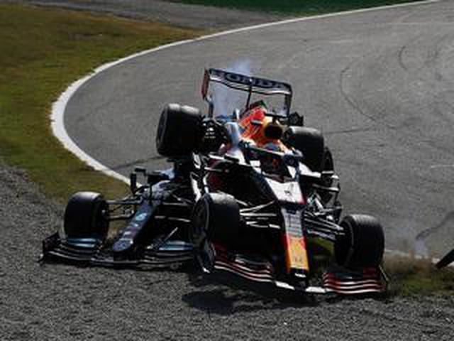 画像: 2021年F1第14戦、ハミルトンと接触も「外側からルイスをパスできるペースだった」とフェルスタッペン【イタリアGP】