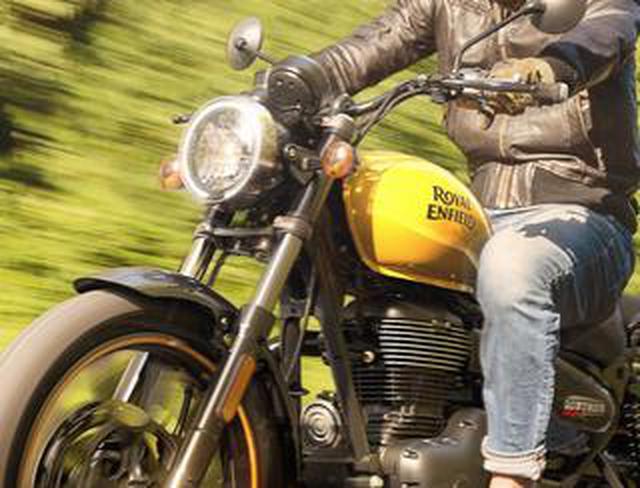 画像: ロイヤルエンフィールド「メテオ350」日本での販売価格が決定! バイク専用ナビシステムを搭載した349cc単気筒クルーザー