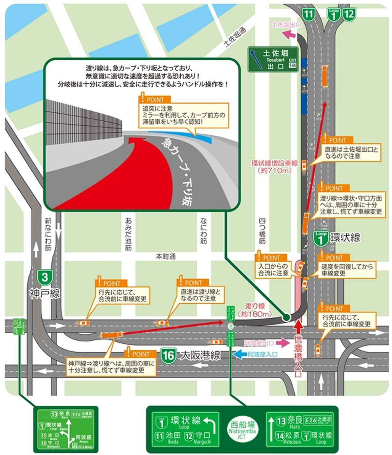 状況 渋滞 阪神 高速