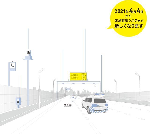 画像: 交通管制システム全面リニューアル|阪神高速道路株式会社 ドライバーズサイト