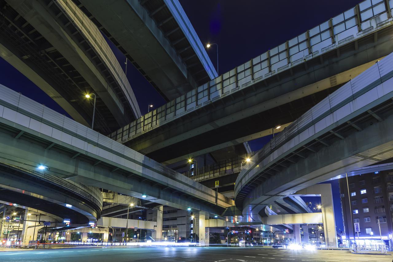 画像: 写真は阿波座ジャンクションです。