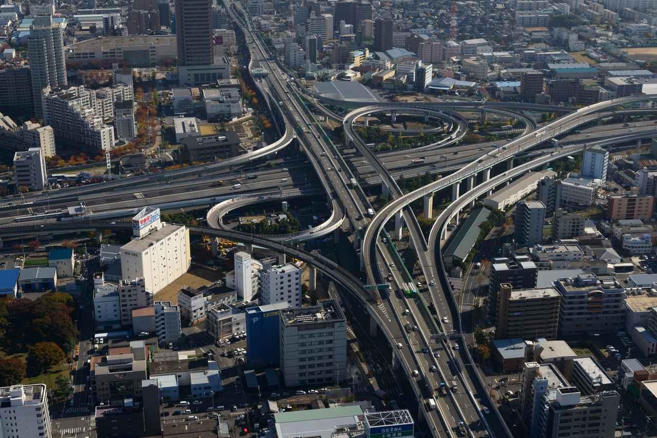 画像: 写真は東大阪ジャンクションです。