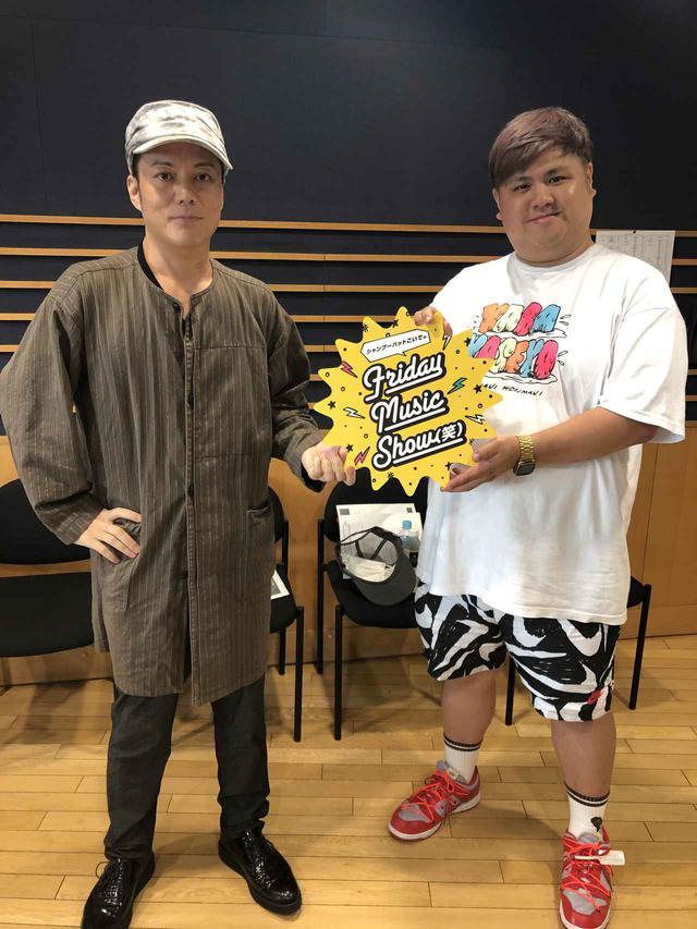 画像: 7月10日(金) シャンプーハットこいでのFriday Music Show(笑)