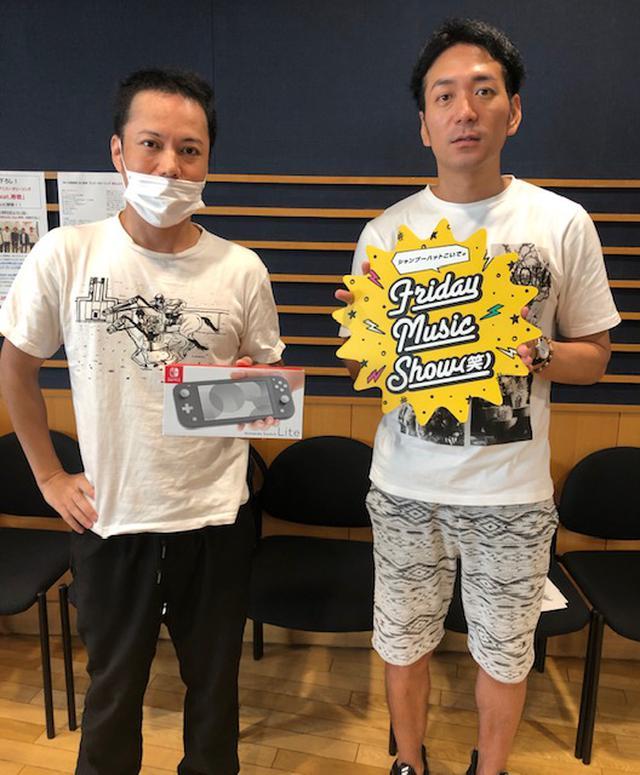 画像: 7月31日(金) シャプーハットこいでのFriday Music Show(笑)