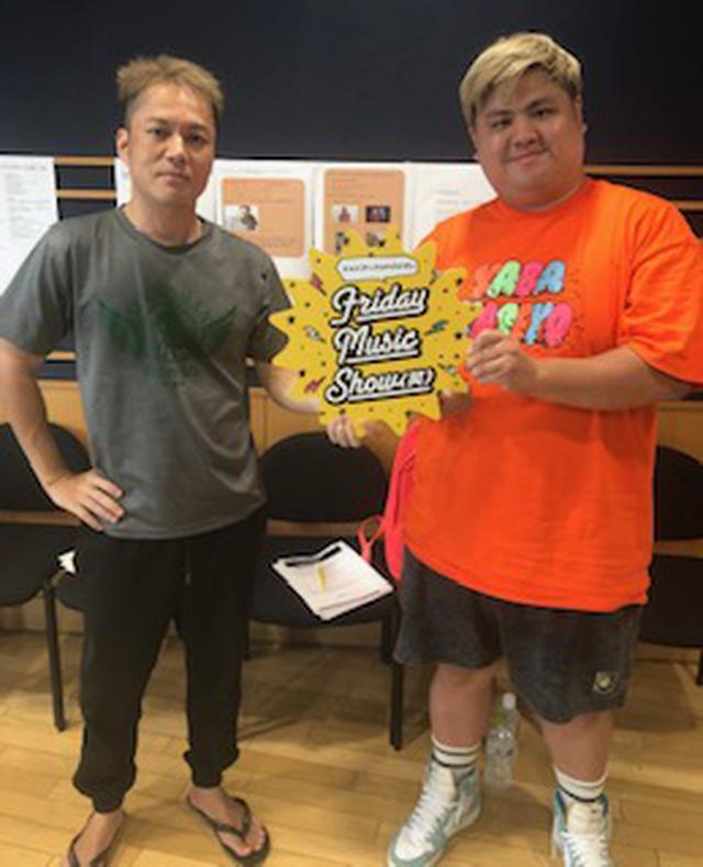 画像: 8月28日(金) シャンプーハットこいでのFriday Music Show(笑)