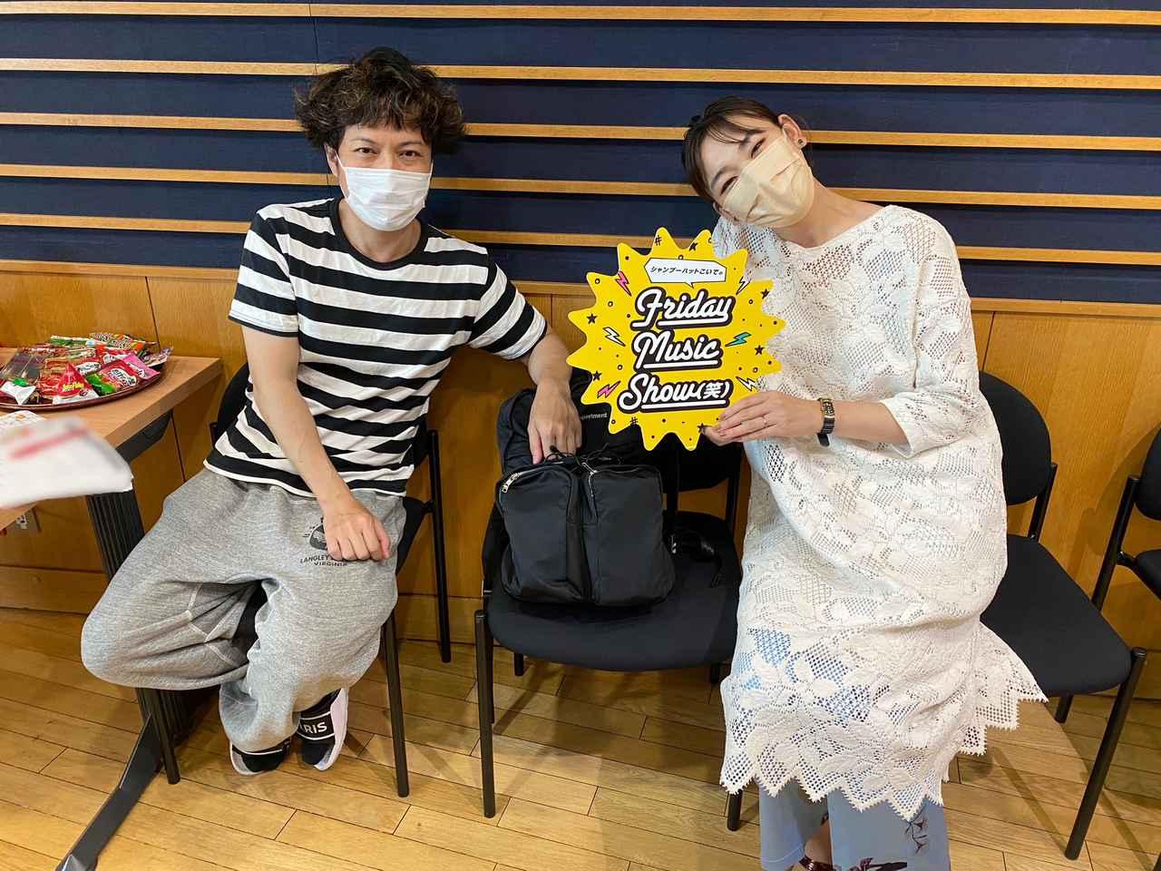 画像: 7月16日(金)シャンプーハットこいでのFriday Music Show(笑)